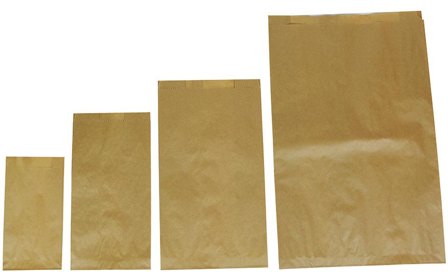 Papirnate vrečke natura